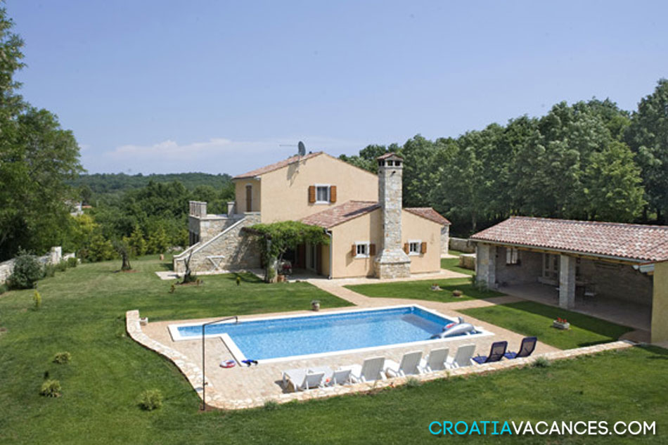 Location villa croatie ref 049kr dt vil01 croatiavacances for Des belles villas