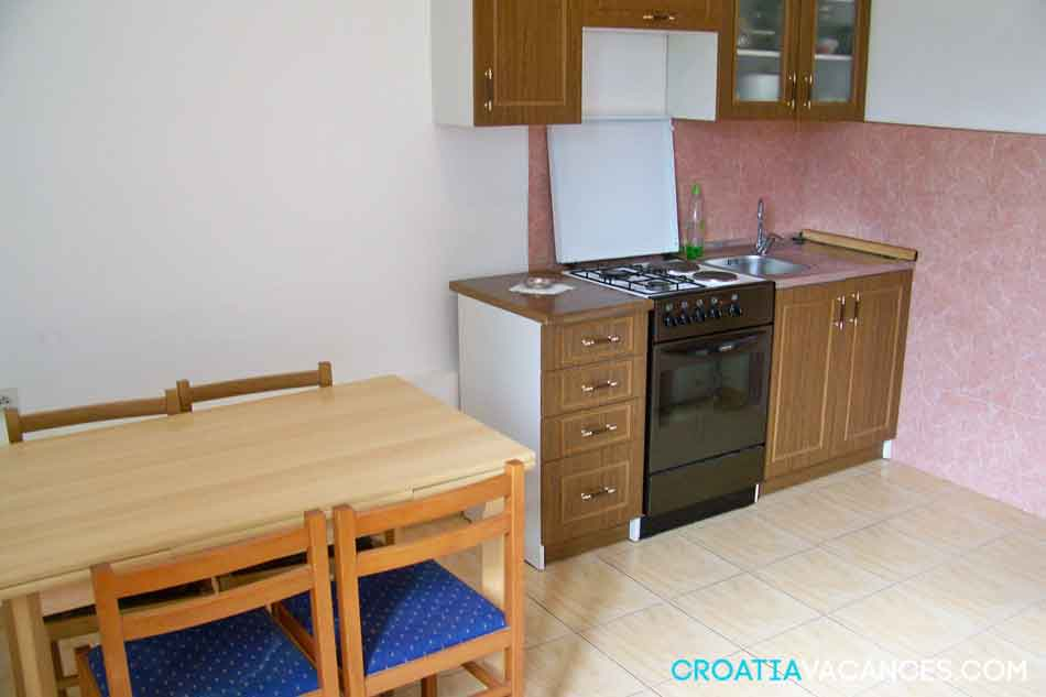 Appartement 2+2 à Bibinje Zadar - location croatie