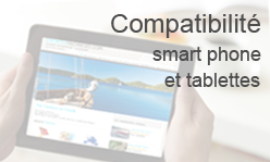 Compatible smart phone et tablettes - Croatia Vacances